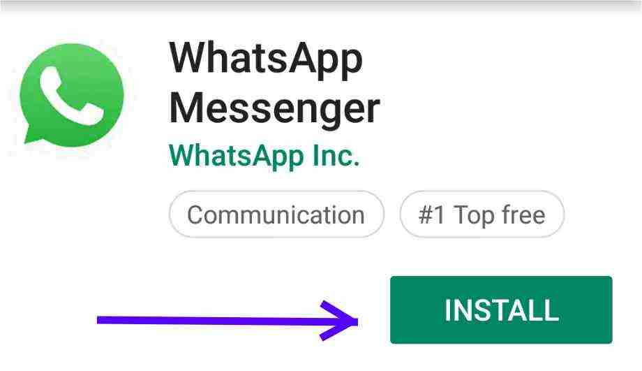 whatsapp installation image