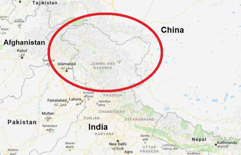 कश्मीर मुद्दा और इतिहास