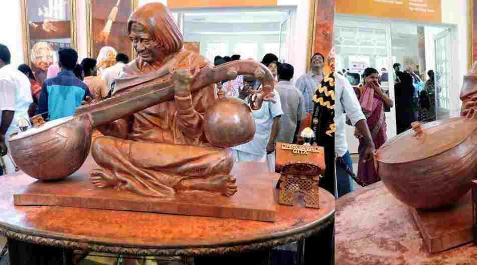 भारत के पूर्व राष्ट्रपति डॉ एपीजे अब्दुल कलाम का स्मारक
