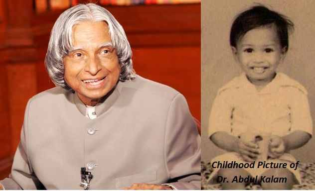 डॉ एपीजे अब्दुल कलाम का बचपन
