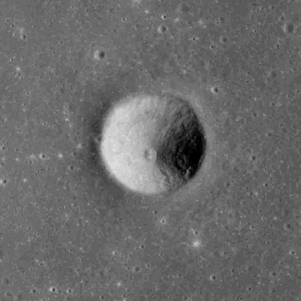 चंद्रमा पर साराभाई क्रेटर