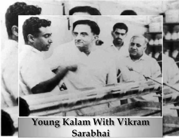 डॉ कलाम और विक्रम साराभाई