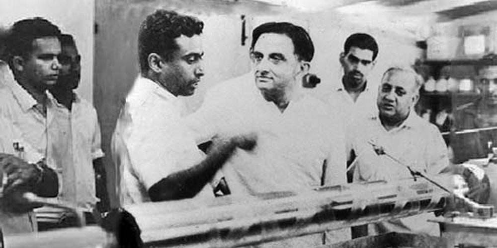 डॉ विक्रम साराभाई और डॉ एपीजे कलाम