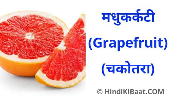 Grapefruit in Sanskrit. चकोतरा का संस्कृत में नाम