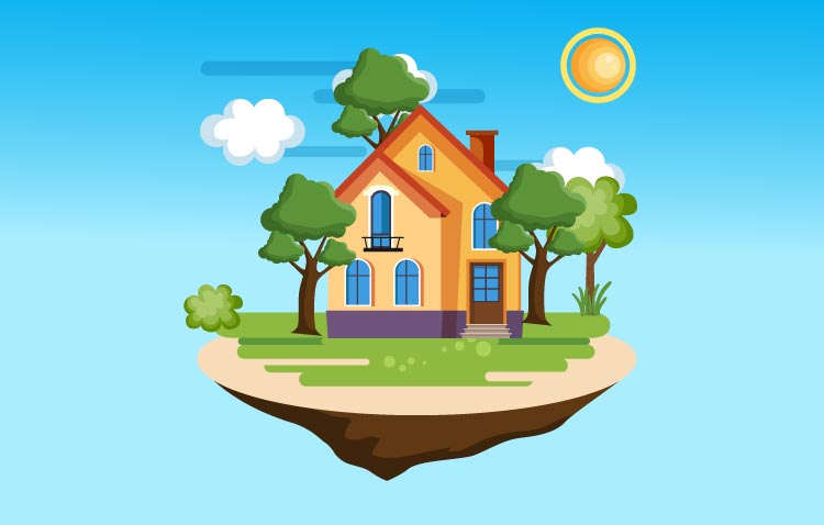 कक्षा 1 के लिए मेरा सपनों का घर पर निबंध. Essay on my dream home for class 1 in Hindi