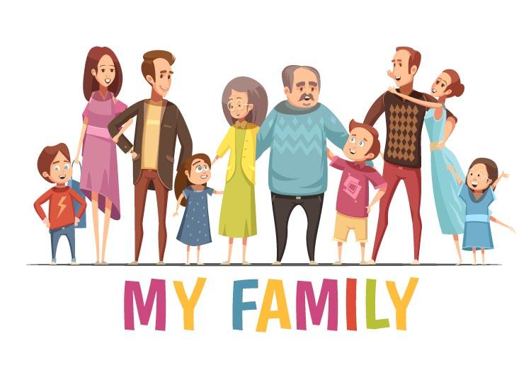 कक्षा 1 के लिए मेरे परिवार पर निबंध. Essay on my family for class 1 in Hindi